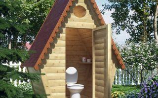 Как построить дачный туалет своими руками