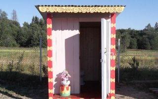 Особенности строительство дачного туалета